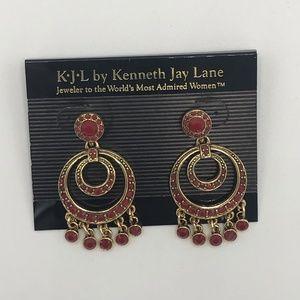 "Kenneth Jay Lane ""Social Circle"" Earrings"